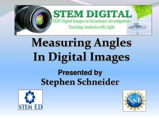 Measuring Angles In Digital Images