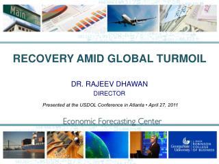 RECOVERY AMID GLOBAL TURMOIL