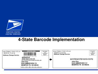 4-State Barcode Implementation