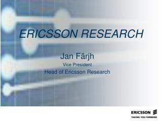 ERICSSON RESEARCH