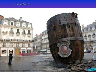 ¡ En pleno París !
