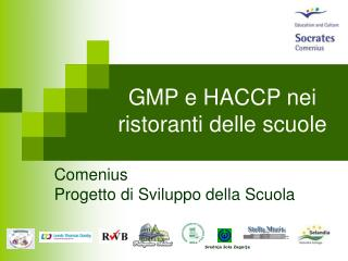 GMP e HACCP nei ristoranti delle scuole