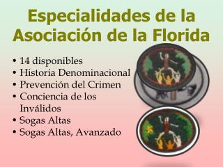 14 disponibles Historia Denominacional Prevención del Crimen Conciencia de los Inválidos Sogas Altas Sogas Altas, Avanz