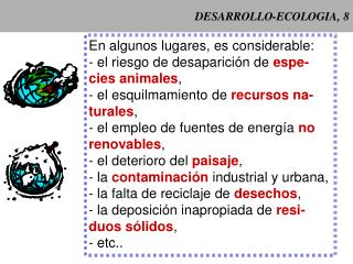 DESARROLLO-ECOLOGIA, 8