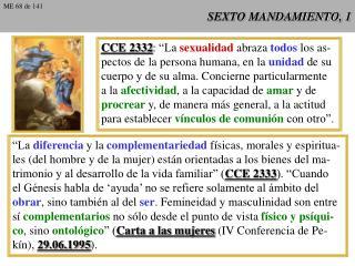 SEXTO MANDAMIENTO, 1