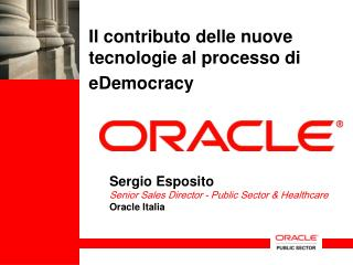 Il contributo delle nuove tecnologie al processo di  eDemocracy