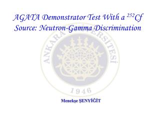 AGATA Demonstrator Test With a  252 Cf Source: Neutron-Gamma Discrimination