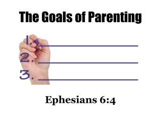 The Goals of Parenting