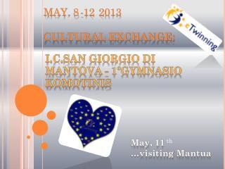 i.c.SAN  GIORGIO  DI  MANTOVA -  1ºgymnasio komotinis
