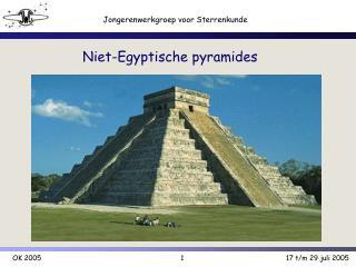 Niet-Egyptische pyramides