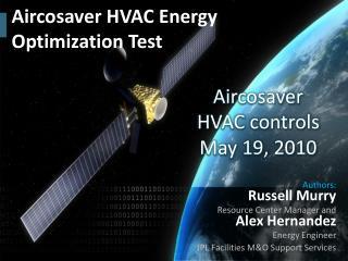 Aircosaver HVAC Energy Optimization Test