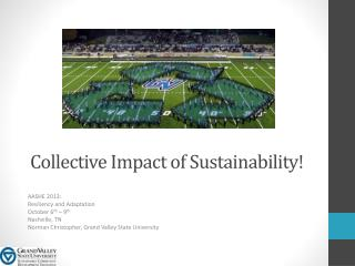 Collective Impact of Sustainability!