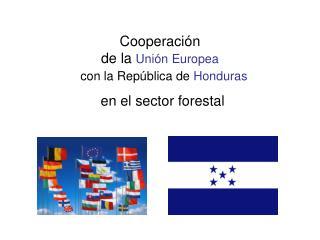 Cooperación  de la  Unión Europea