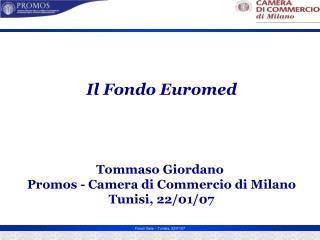 Il Fondo Euromed