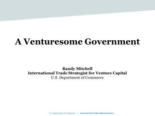 A Venturesome Government