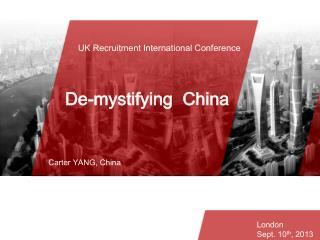 UK  Recruitment International  Conference
