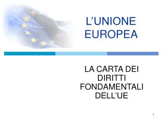 L�UNIONE EUROPEA