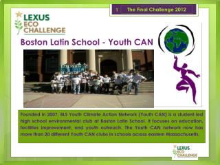 Boston Latin School - Youth CAN