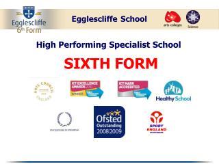 High Performing Specialist School