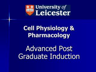 Cell Physiology & Pharmacology