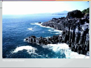 The Coast of Jeju Island