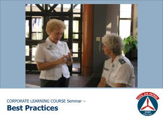 CORPORATE LEARNING COURSE Seminar -- Best Practices