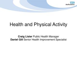 Health and Physical Activity