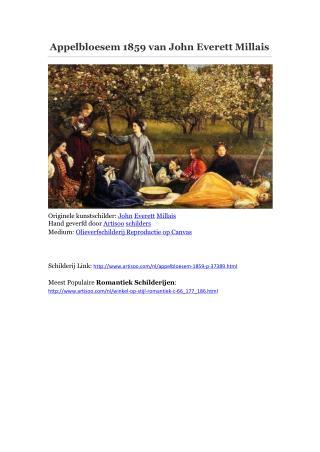 Appelbloesem 1859 van John Everett Millais