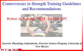 Controversies in Strength Training Guidelines and Recommendations