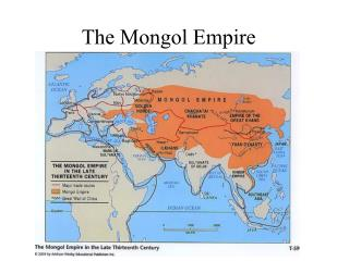 An overview of the mongolian empire