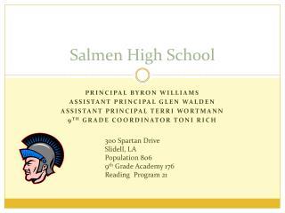 Salmen High School