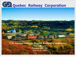 Quebec Railway Corporation
