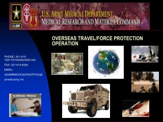 OVERSEAS TRAVEL/FORCE PROTECTION OPERATION