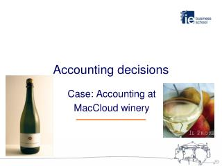 Accounting decisions