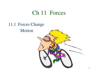 Ch 11  Forces
