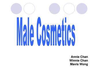 Male Cosmetics