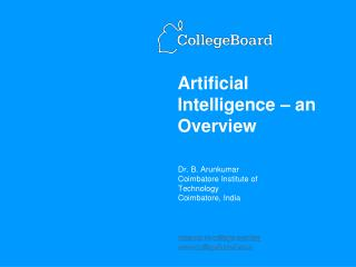 Artificial Intelligence   an Overview