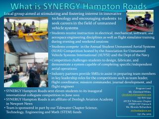 What is SYNERGY Hampton Roads