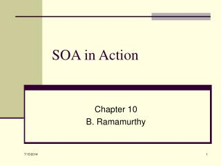 SOA in Action