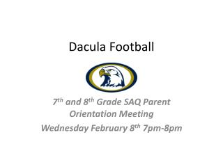 Dacula Football