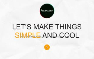 LET'S MAKE THINGS  SIMPLE  AND COOL