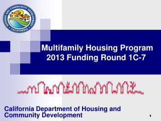 Multifamily Housing Program 2013 Funding Round 1C-7