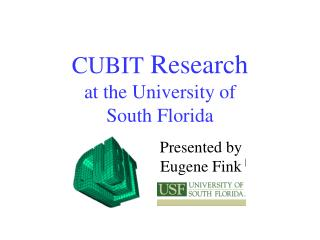 CUBIT  Research at the University of South Florida