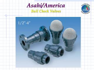 Asahi/America Ball Check Valves