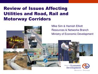 Review of Issues Affecting Utilities and Road, Rail and Motorway Corridors