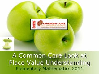 A Common Core Look at Place Value Understanding