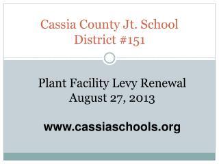 Cassia County Jt. School District #151