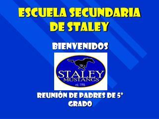Escuela Secundaria de Staley