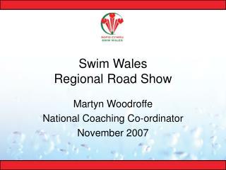 Swim Wales Regional Road Show