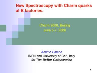 New Spectroscopy with Charm quarks at B factories.